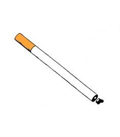 Innovativa sigaretta con accensione a sfregamento