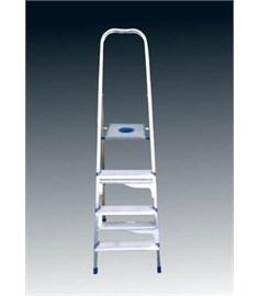 Innovative ladder with mobile steps