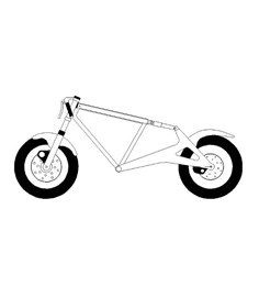 Innovativo telaio per motociclette