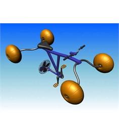 Innovativa bicicletta acquatica