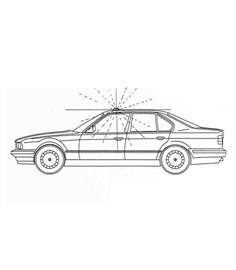 Dispositivo ottico di emergenza per veicoli