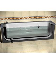 Vasca da bagno a svuotamento rapido