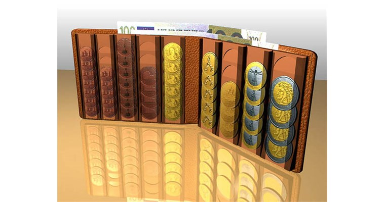 The Euro wallets