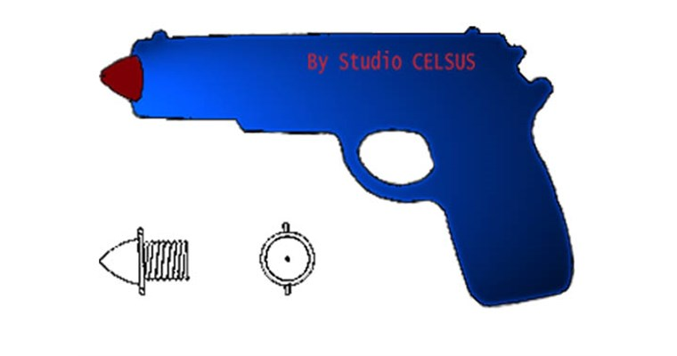 La pistola gonfiabile