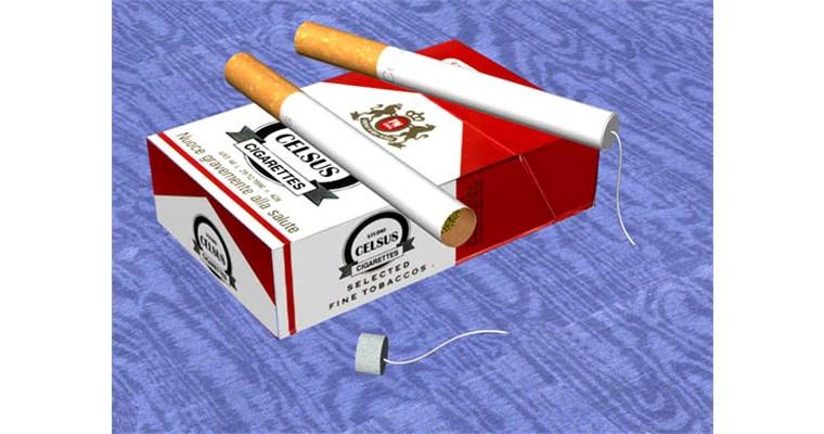 La sigaretta che si accende da sola