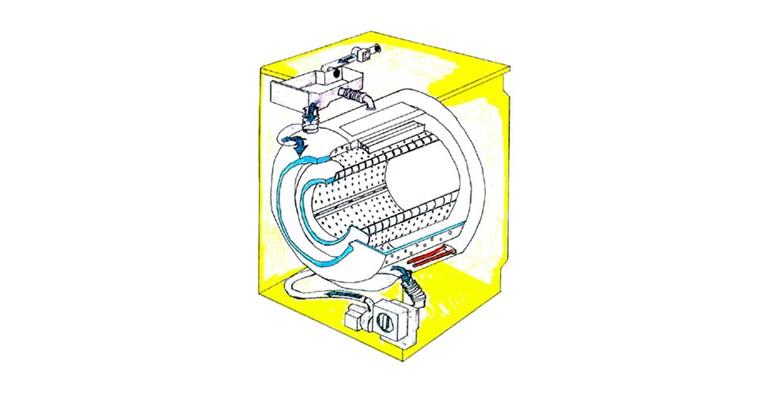 La lavatrice a doppio cestello