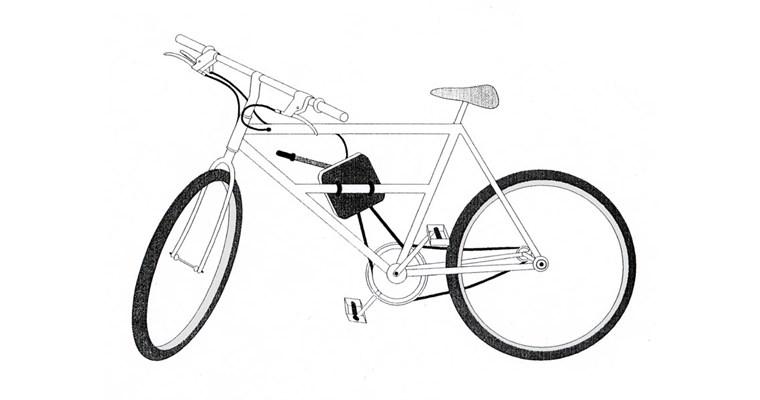 La bicicletta a molla