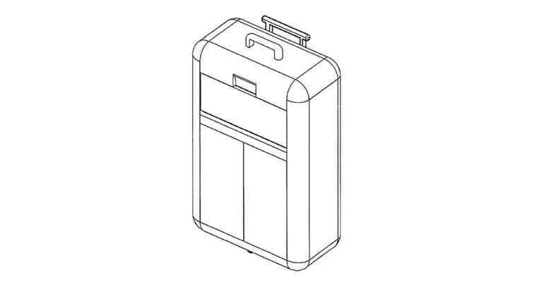 La valigia con la consolle incorporata