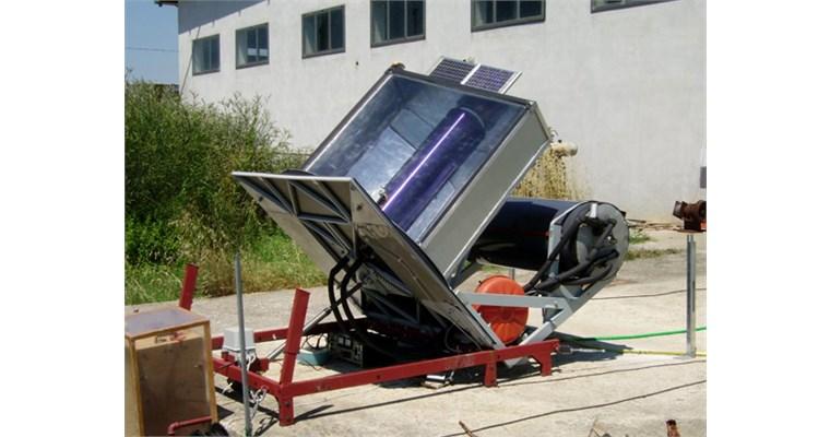 Innovativo collettore a energia solare
